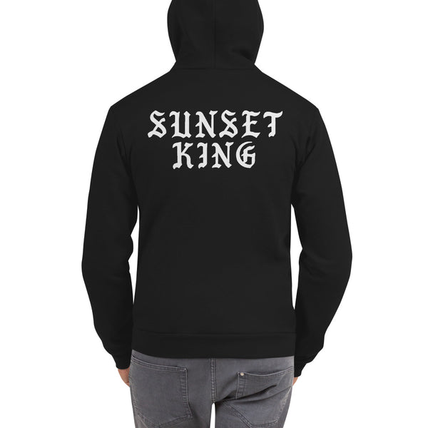 SUNSET KING Zip Hoodie