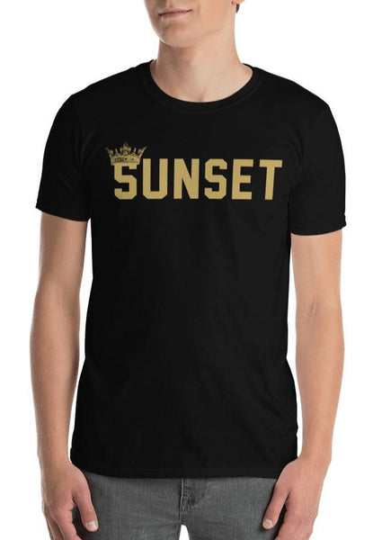 SUNSET KING CROWN Mens T-Shirt