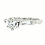 Stephanie- 3/4 CTW 14K Gold Engagement Ring