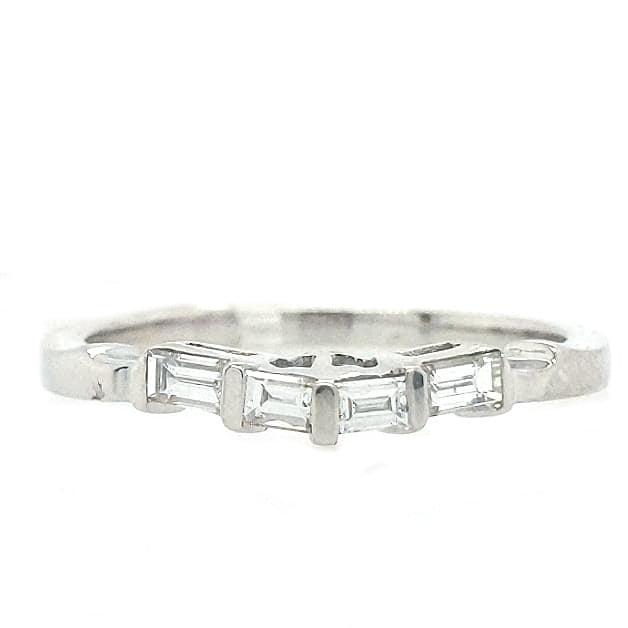 Angel - 1.3 CTW Curved Diamond Band