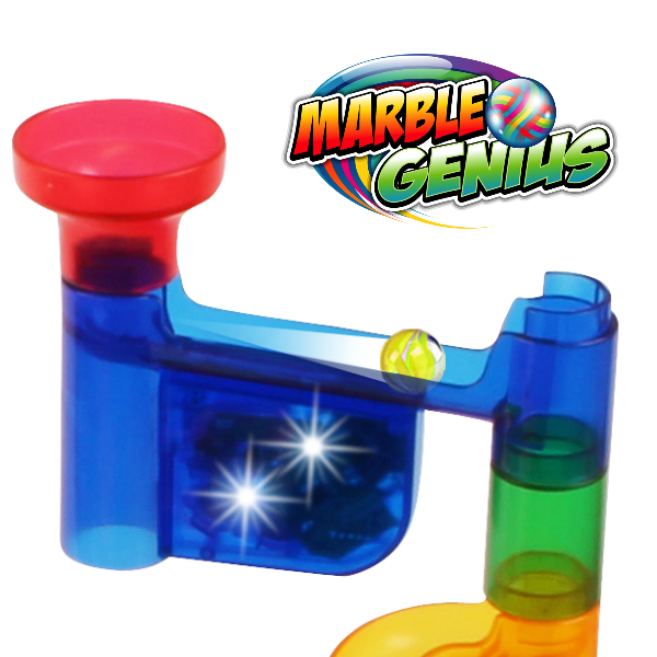 Bring Your Marble Run to Life with Lights & Sounds!