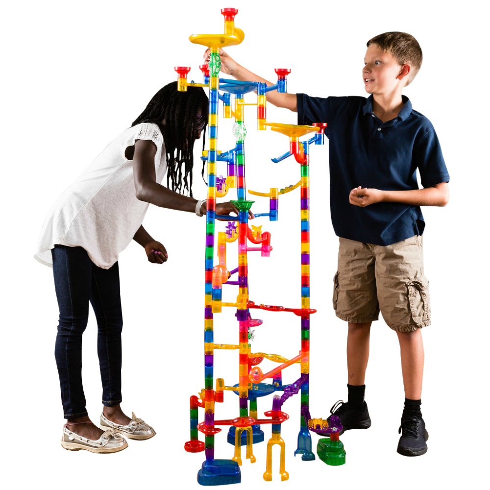 Combining Multiple Marble Run Sets Together