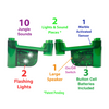 Lights & Jungle Sounds Marble Run Accessory Set