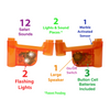 Lights & Safari Sounds Marble Run Accessory Set