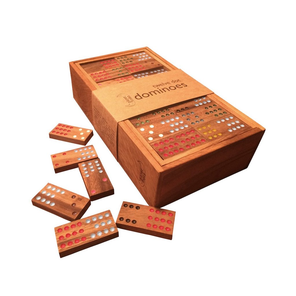 Planet Finska Twelve Dot Dominoes Teros