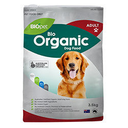 BIOpet Organic Adult Dog Food 10.5 kg (3.5 kg x 3)