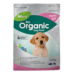 BIOpet Organic Puppy Food 1.25 kg