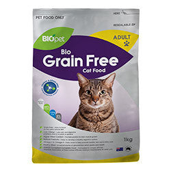 BIOpet Grain Free Adult Cat 1 kg