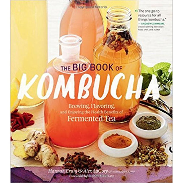"""Big Book of Kombucha"" Book by Hannah Crum"