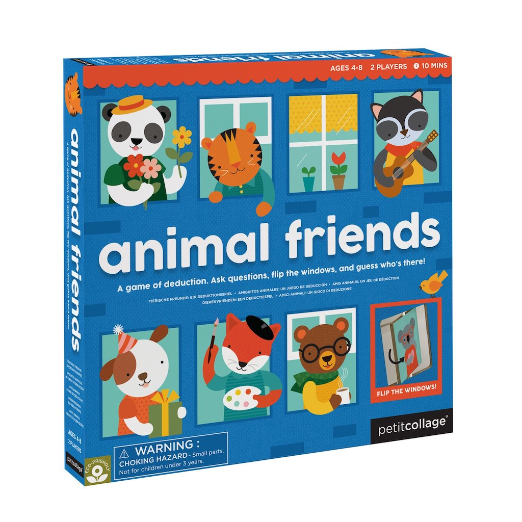 Petit Collage Animal Friends Board Game