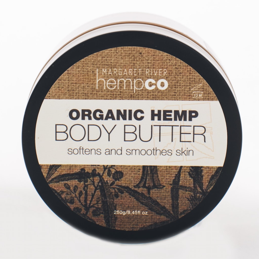 Margaret River Hemp Co Organic Body Butter 250 g Teros