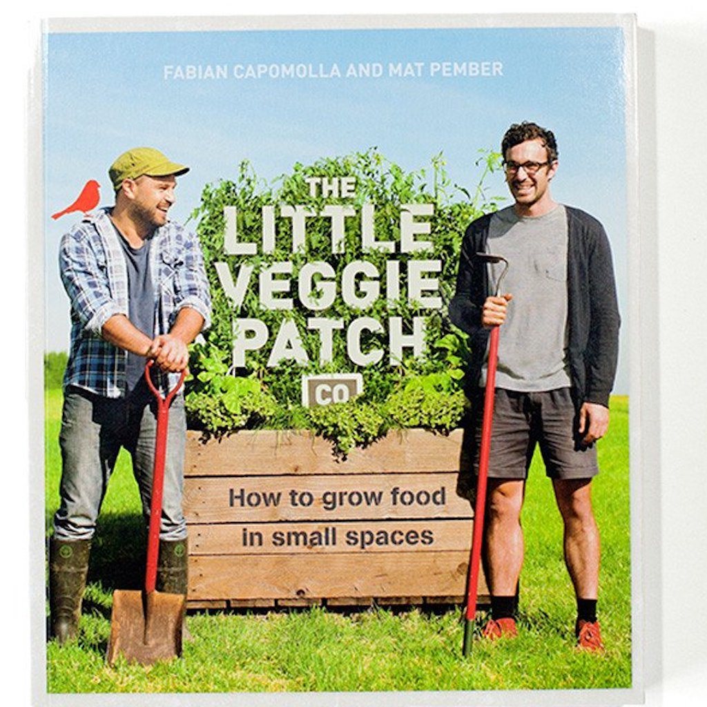 """How To Grow Food in Small Places"" Book by Little Veggie Patch Co Teros"