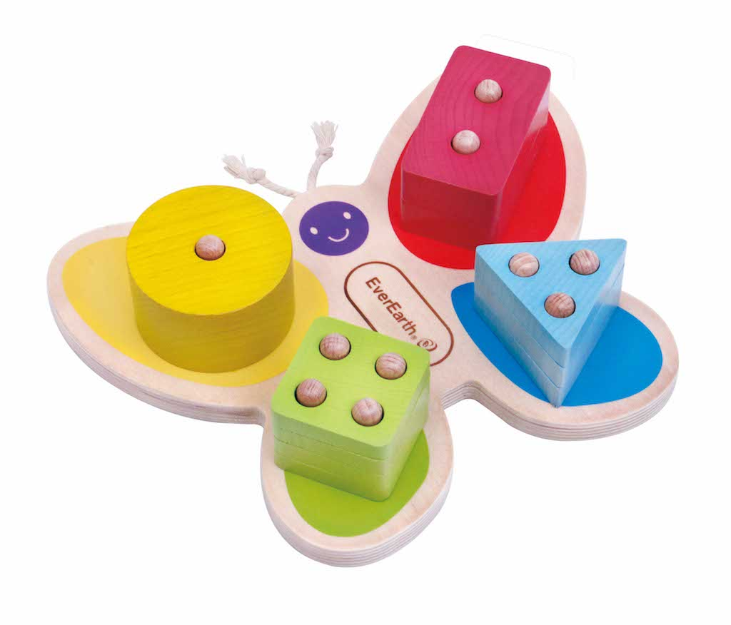 EverEarth Butterfly Stacking Toy Teros