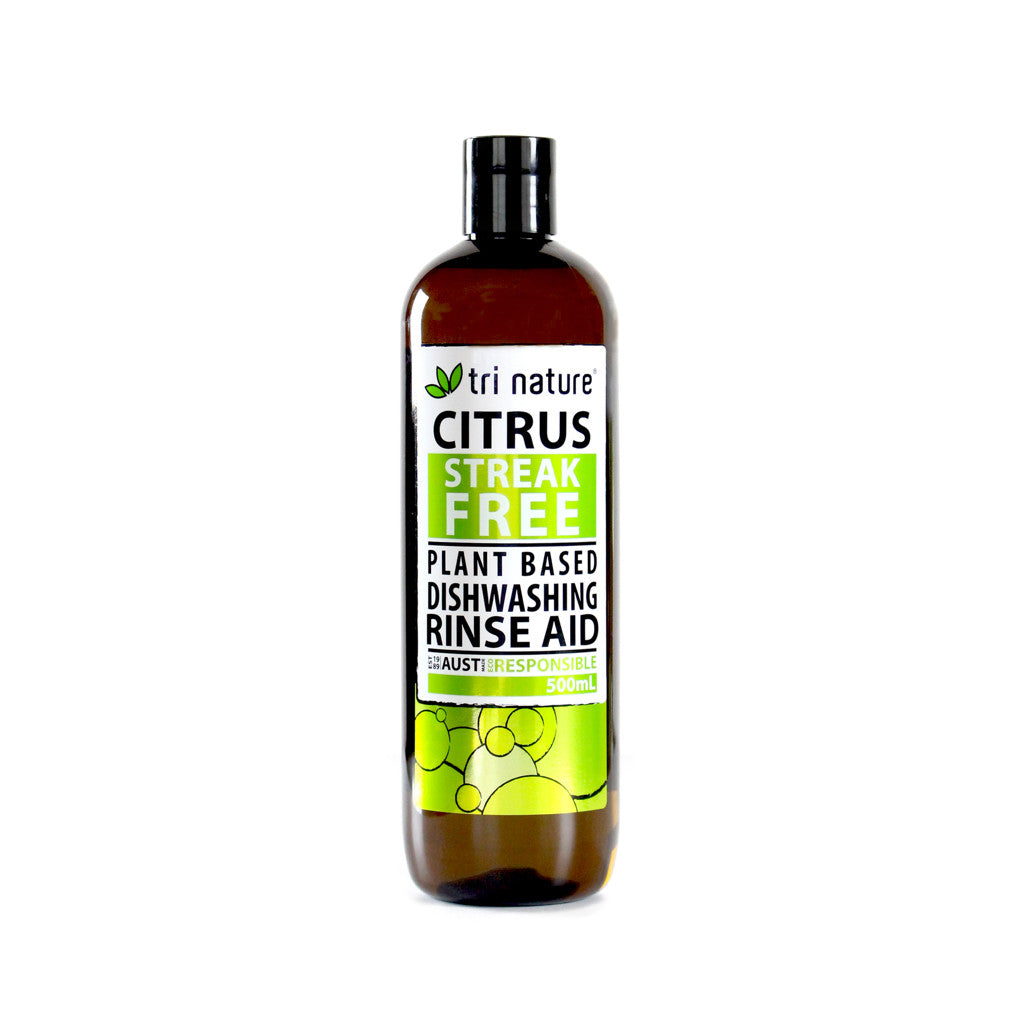 Tri Nature Dishwasher Rinse Aid with Citrus 500 ml
