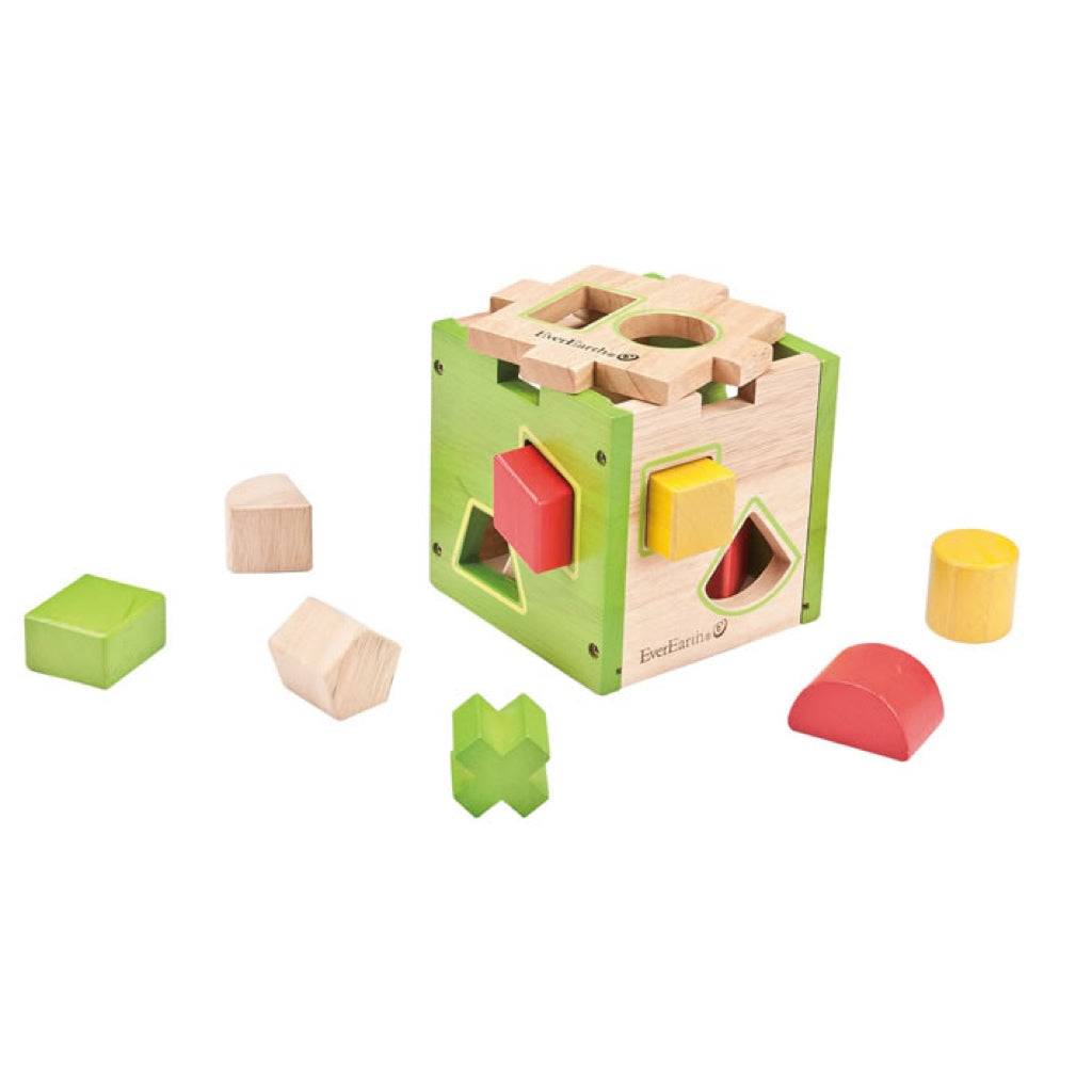Everearth Educational Shape Sorter Box