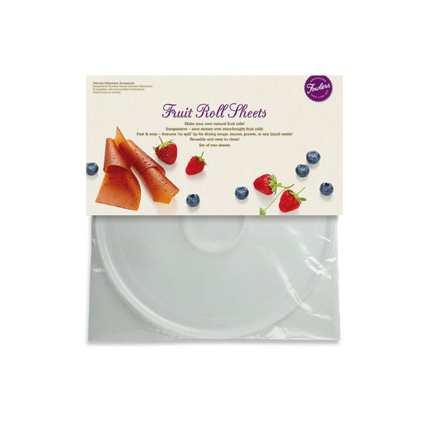 Fowlers Fruit Leather Sheet (2 per Pack)
