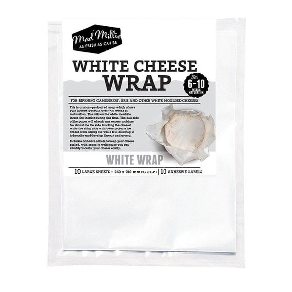 Mad Millie White Wrap 10 pack 240 cm x 240 cm