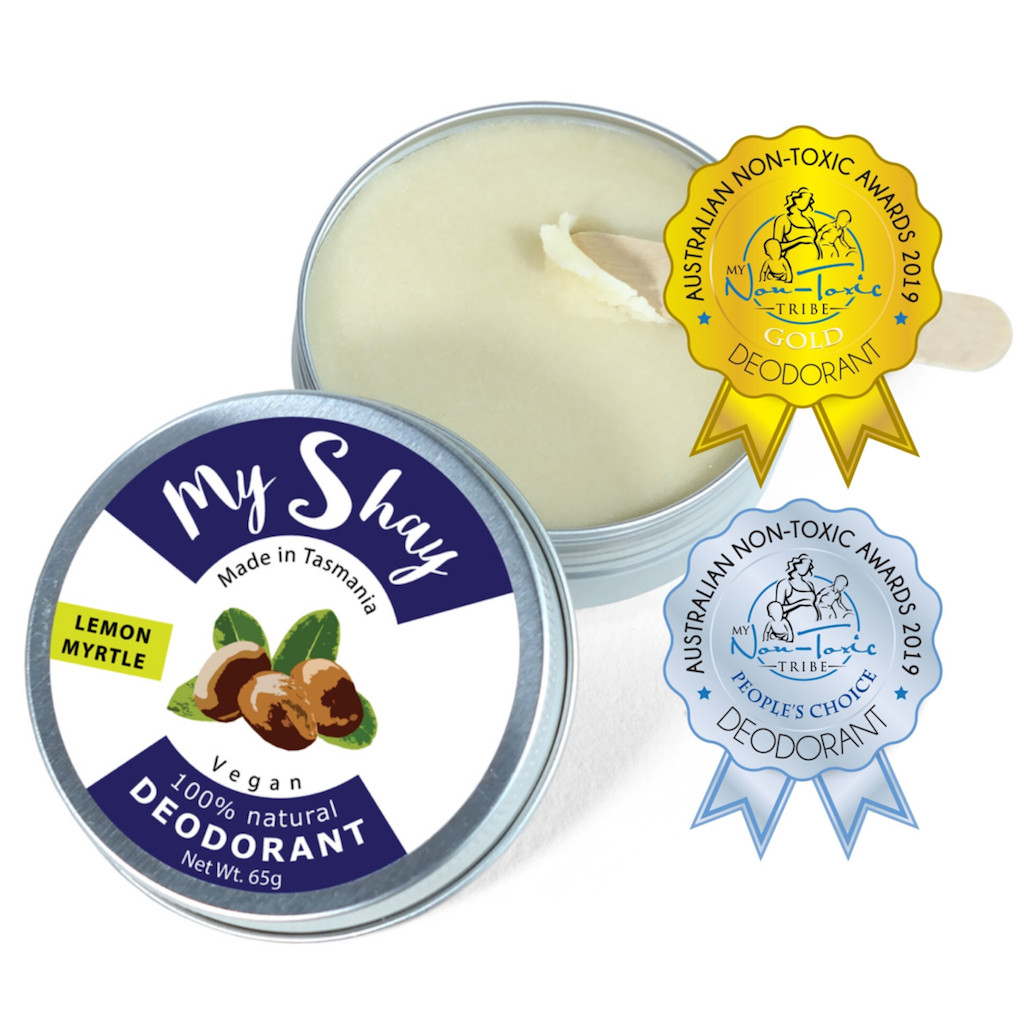 My Shay Deodorant Paste Lemon Myrtle in Tin Teros