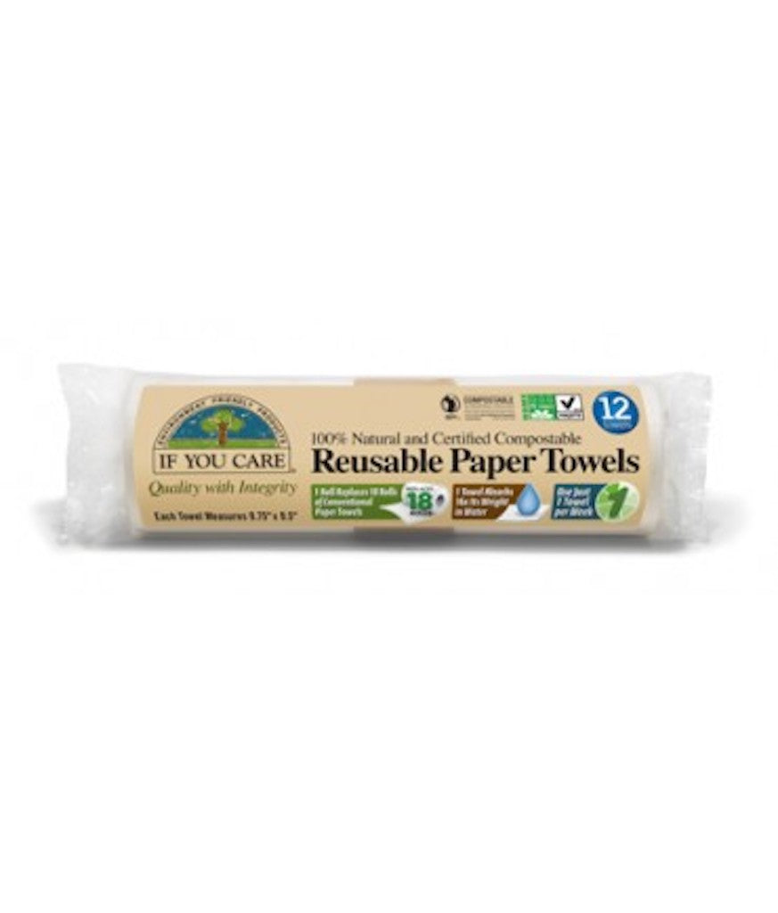 If You Care Reusable Paper Towel (12 Pack) Teros
