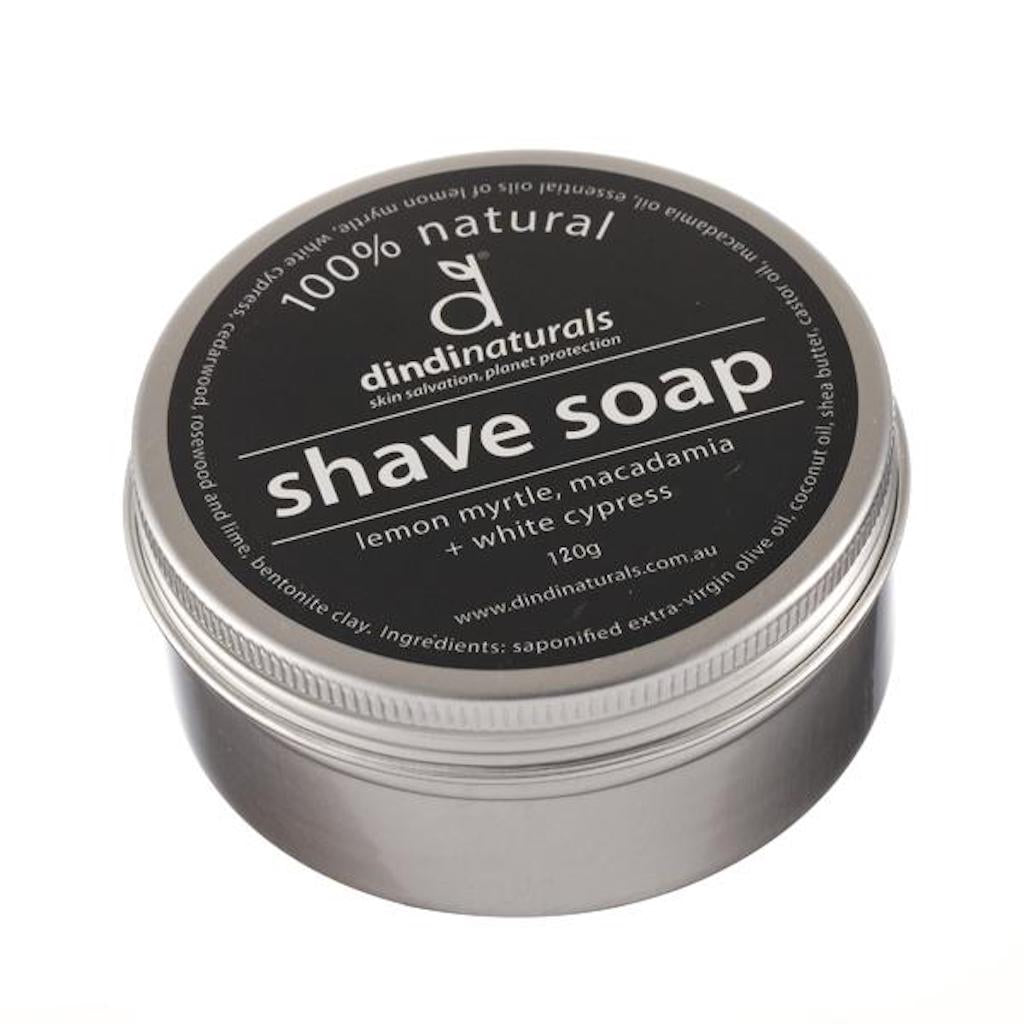 Dindi Naturals Shaving Soap Bar in Tin 120 ml Teros