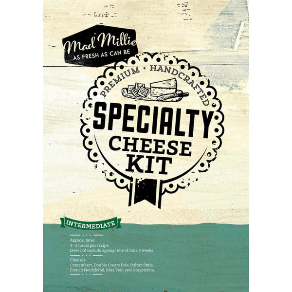 Mad Millie Specialty Cheese Kit Recipe Booklet