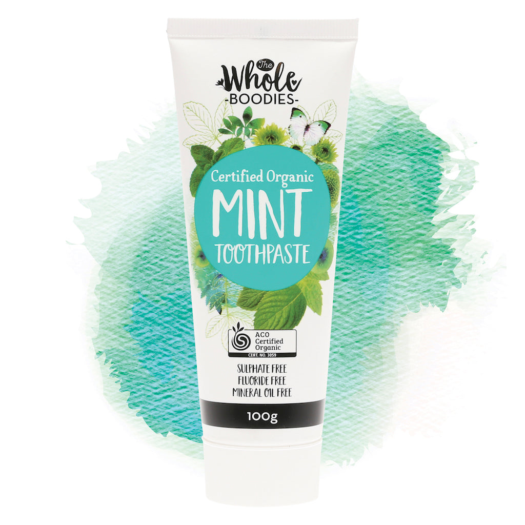 The Whole Boodies Toothpaste Mint 100 g Teros