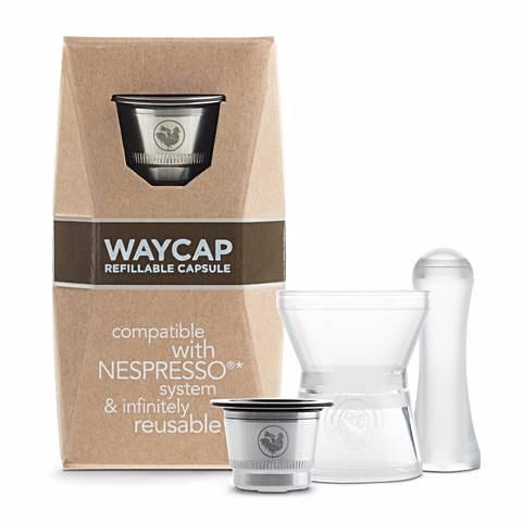 Teros - WayCap EZ One refillable coffee capsule starter pack components