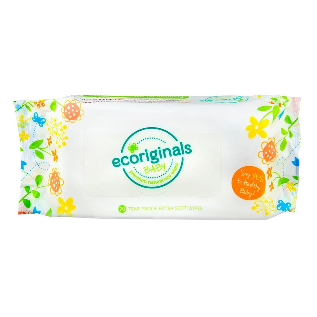 Ecoriginals Biodegradable Wipes (70 Pack) Teros