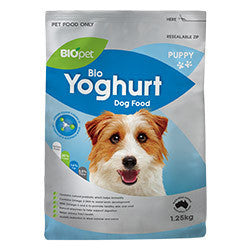 BIOpet Yoghurt Puppy Dog Food 7.5 kg (1.25 kg x 6)