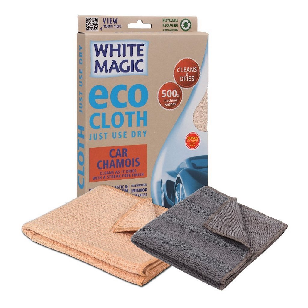White Magic Car Chamois Eco Cloth