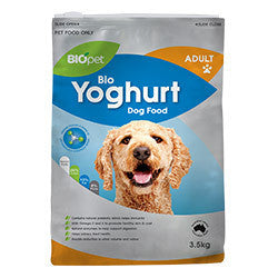 BIOpet Yoghurt Adult Dog Food 10.5 kg (3.5 kg x 3)