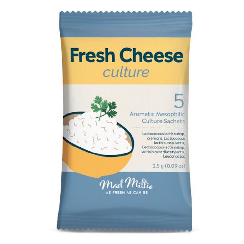 Mad Millie Fresh Cheese Culture (5 Pack)