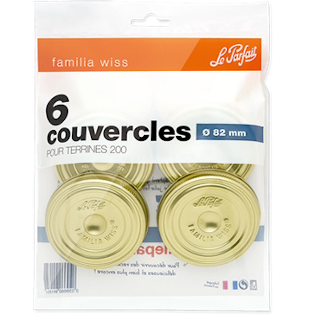 Le parfait familia wiss screw lid