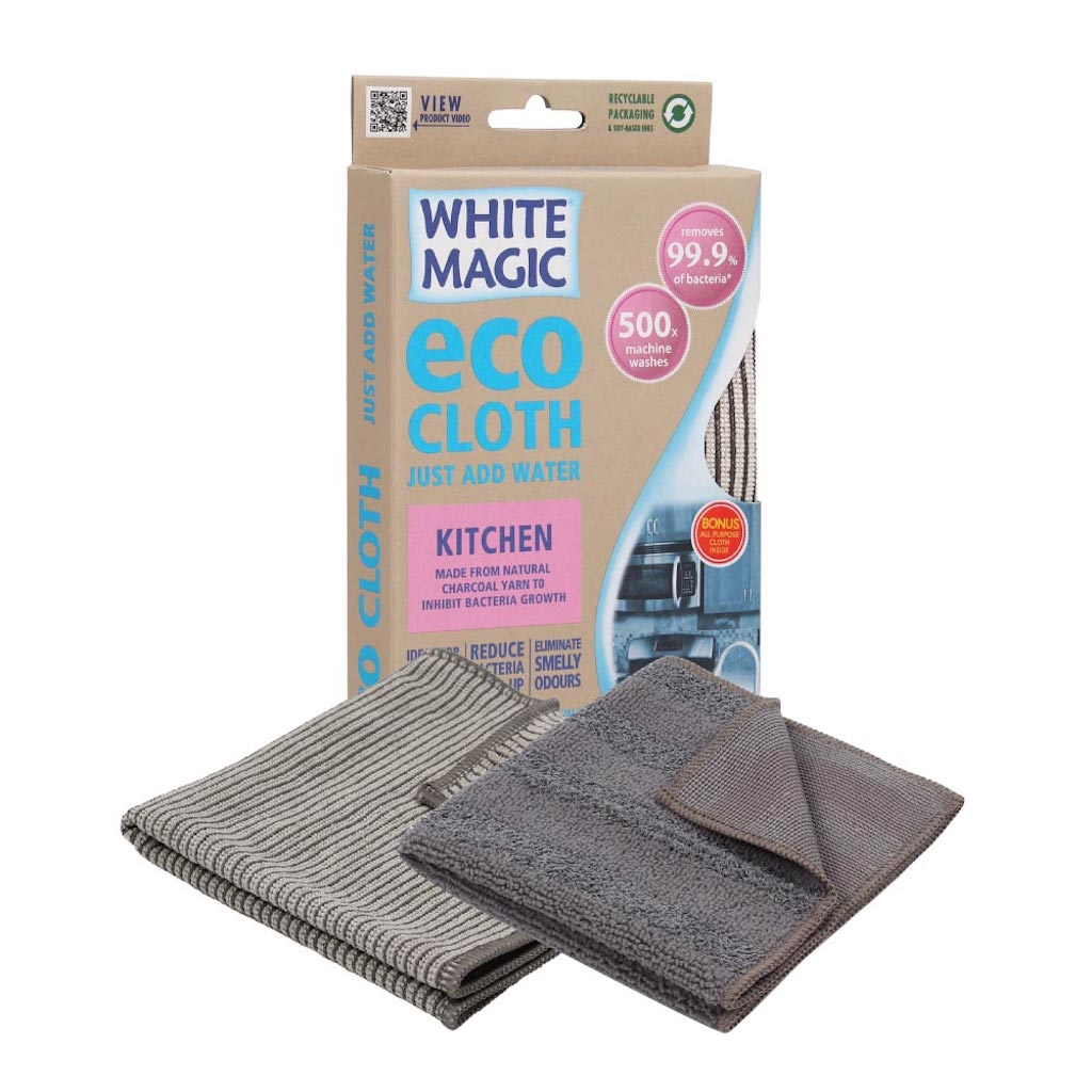 White Magic Kitchen Cleaning Eco Cloth