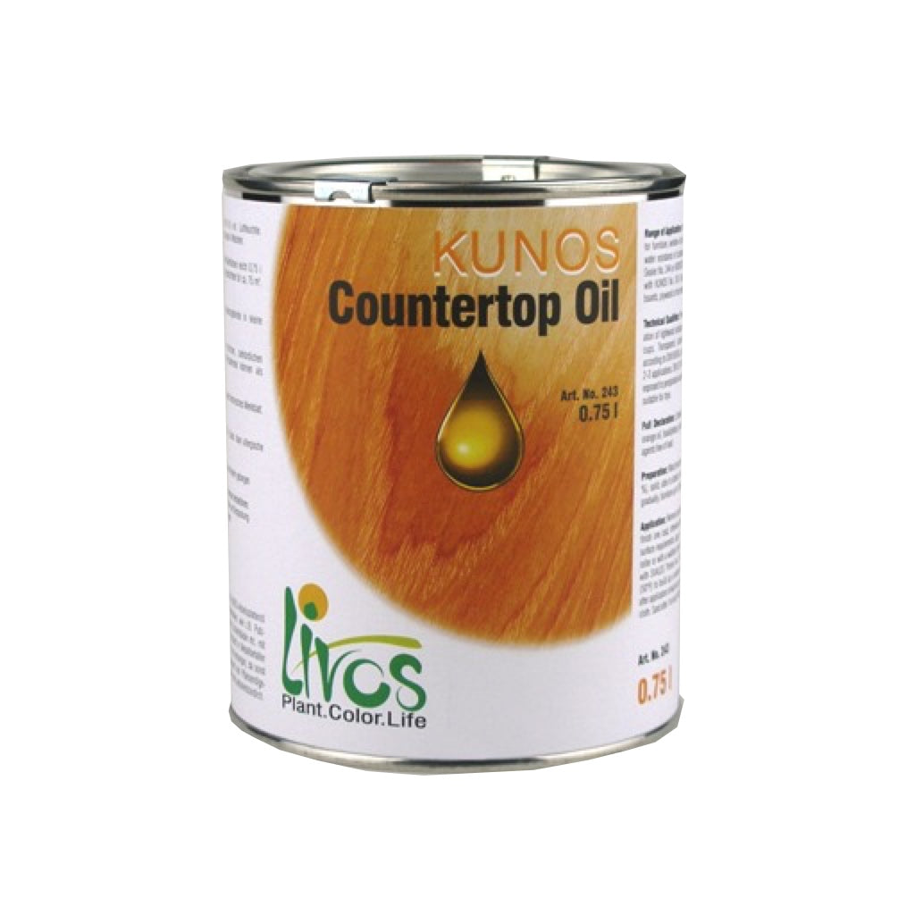 Livos Kunos Countertop Oil Clear (243)