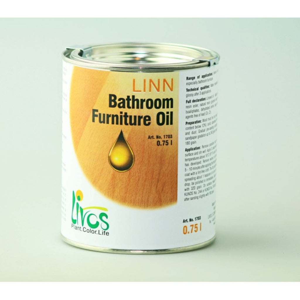 Livos Linn Bathroom Furniture Oil (1703)