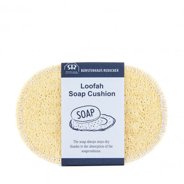 Redecker Loofah Soap Cushion & Sponge