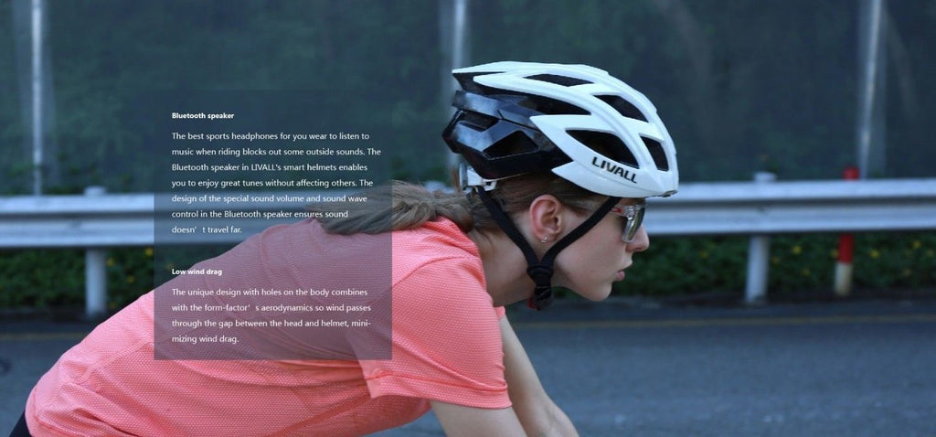 Livall smart helmet from Teros has bluetooth speakers and emergency alerts