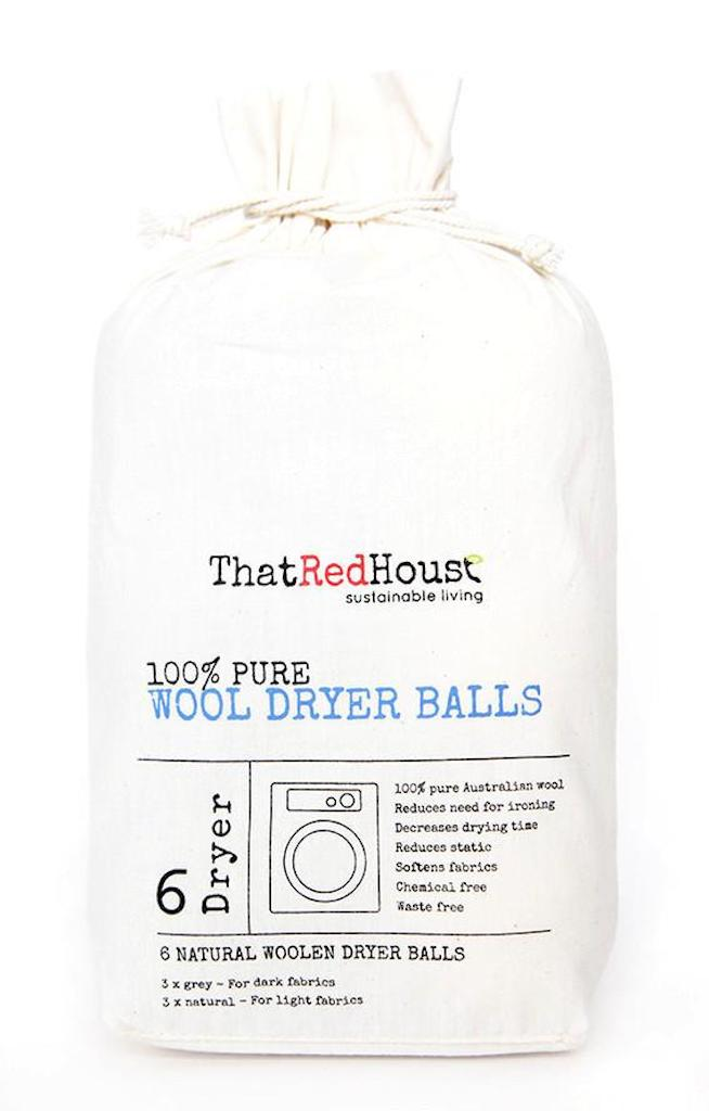 That Red House Woollen Laundry Balls (6 Pack) Teros
