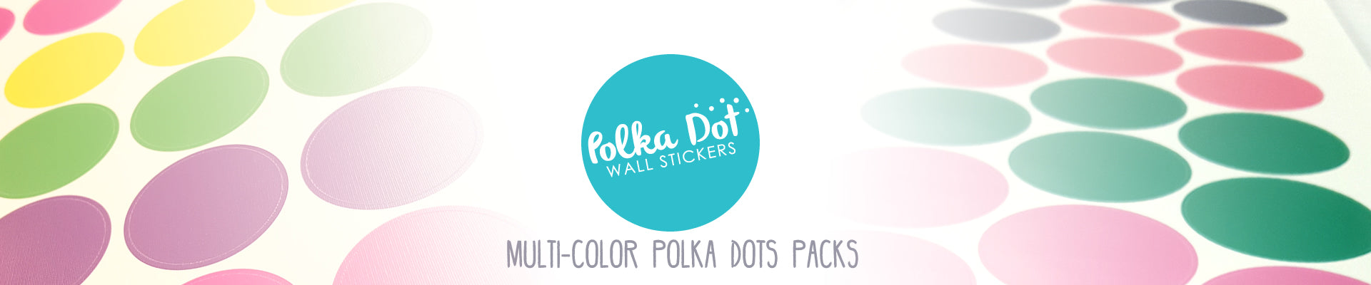 Polka Dot Wall Stickers Apartment Safe And Easy To Use - Wall decals polka dots