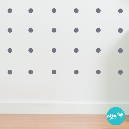 Two Inch Polka Dot Wall Decals Peel Stick Polka Dot - Wall decals dots