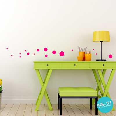 34 Dots - Assorted Size Polka Dots