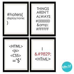 HTML Life Wall Decals