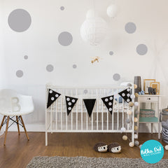 80 Dots - Assorted Size Polka Dots