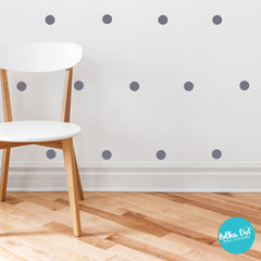 3 inch Polka Dot Wall Decals by Polka Dot Wall Stickers