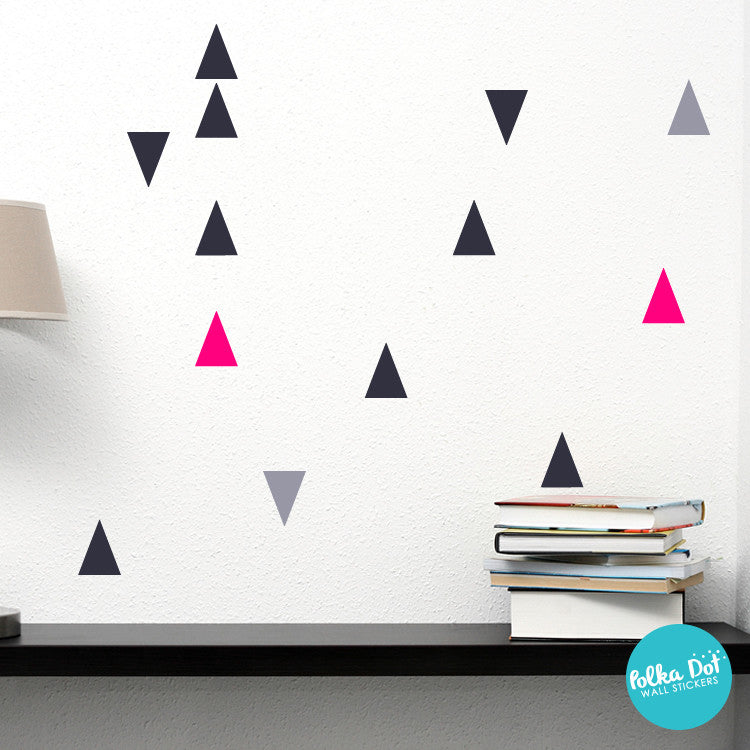 Trendy Triangle Wall Stickers by Polka Dot Wall Stickers