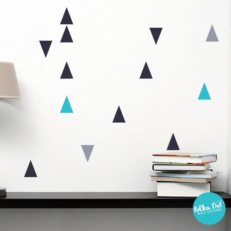 Trendy Triangle Wall Decals by Polka Dot Wall Stickers