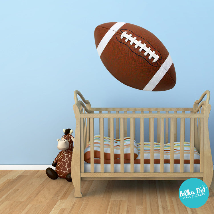 Football wall decals by Polka Dot Wall Stickers