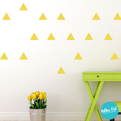 Triangle Wall Decals - Equilateral