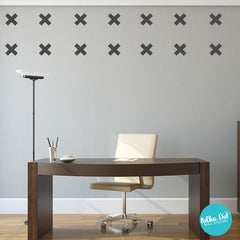 Plus Sign Wall Decals